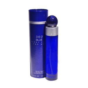360 Blue by Perry Ellis Eau De Toilette Spray 3.4 OZ