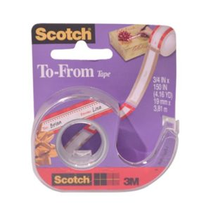 3M Gift Tape To-From