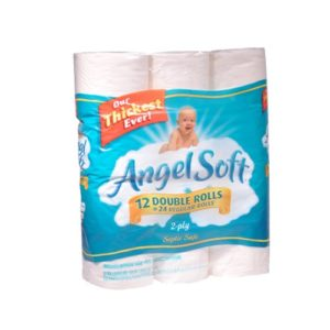 Angel Soft Toilet Paper 12 Double Rolls