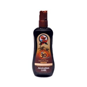 Australian Gold Spray Gel 30 SPF w Bronzer 8 OZ