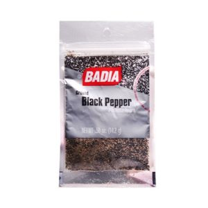 Badia Ground Black Pepper 0.5 OZ