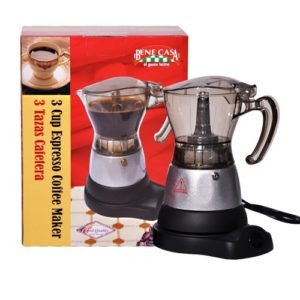 Bene Casa Espresso Coffee Maker 3 Cup