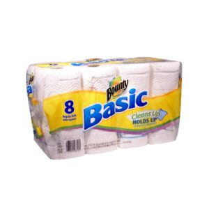 Bounty Basic Paper Towel 8 Rolls