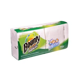Bounty Quilted Napkins 100 Napkins