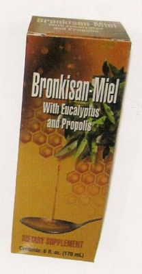 Bronkisan -Honey with Eucalyptus and Propolis