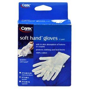 Carex Soft Hand Gloves (Large)