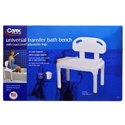 Carex Universal Transfer Bath Bench Union Pharmacy Miami