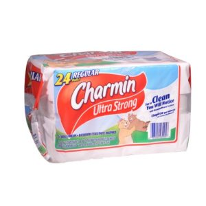 Charmin Ultra Strong Bathroom Tissue, 24 Rolls
