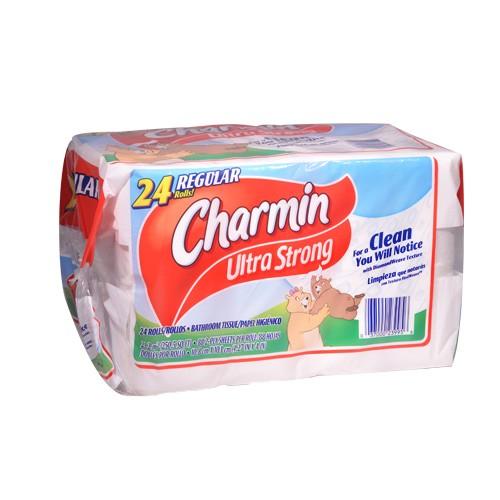 Charmin Ultra Strong Bathroom Tissue 24 Rolls Union