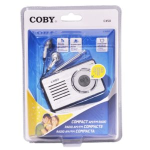 Coby Compact AM/FM Radio