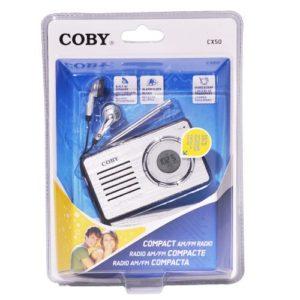 Coby Compact AM/FM Radio