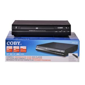 Coby Compact Progressive Scan DVD Player