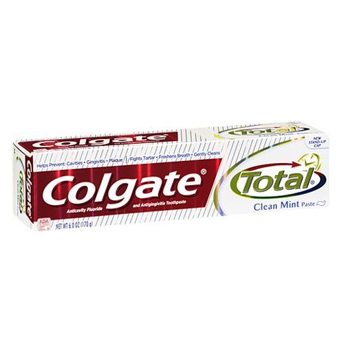 Colgate toothpaste total clean mint 6 oz union pharmacy miami - Keep toothpaste kitchen ...