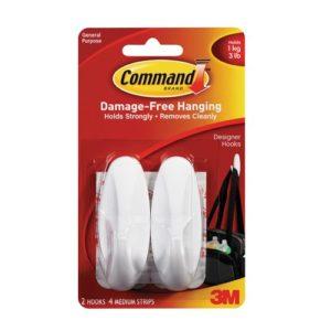 Command Damage-Free Hanging Picture Designer Hooks