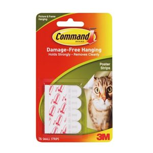 Command Damage-Free Hanging Poster Strips