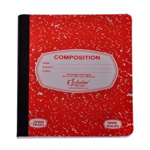 Composition Notebook 100 Sheets Wide Ruled