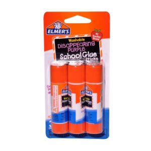 Elmer's School Glue Sticks 3 Pack
