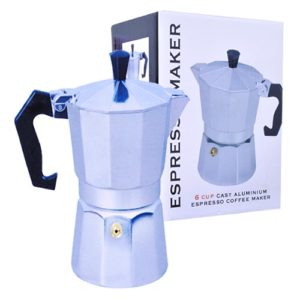 Espresso Coffee Maker Aluminum 6 Cups