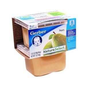 Gerber Pears 2FD PK