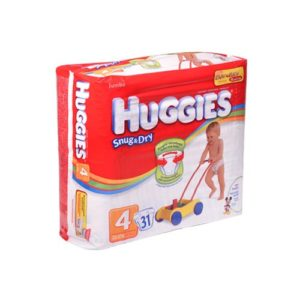 Huggies Snug & Dry Diapers 31 u Size 4