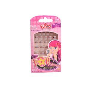 Kiss Pink Pop Princess Sticker Nails