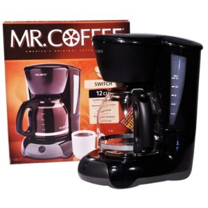 Mr Coffee 12 Cups Black