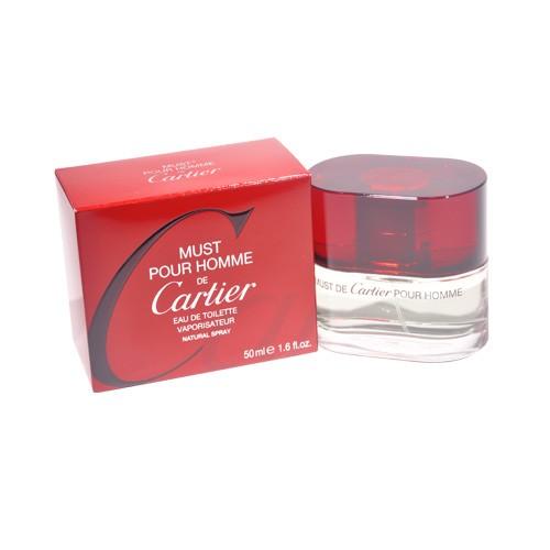 must pour homme by cartier eau de toilette spray 1 6 oz union pharmacy miami