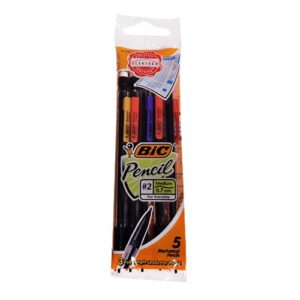 Pencil Bic 5Pack Disposable