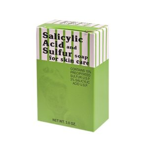 Salicylic Acid and Sulfur Soap 3.0 OZ