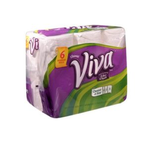 Viva Paper Towel, 6 Rolls