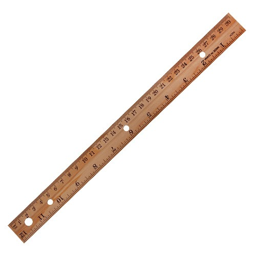 wood ruler 12 inch union pharmacy miami