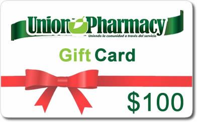 $100 Union Pharmacy Gift Card